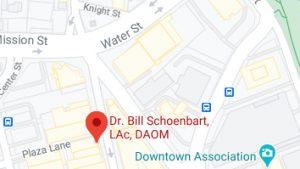 DR. Bill Schoenbart - Pacific Avenue, Santa Cruz