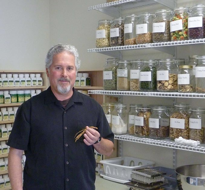 Dr. Bill Schoenbart - practitioner of traditional Chinese herbal medicine
