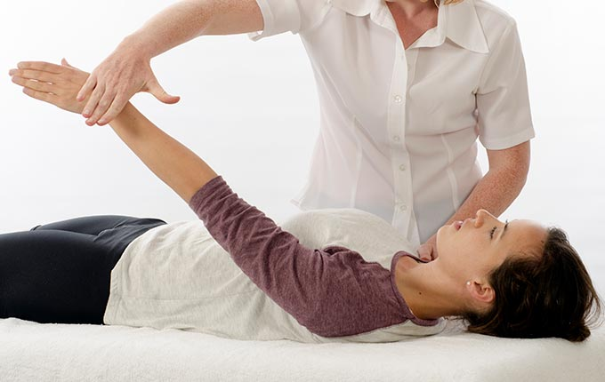 Kinesiology is used in NAET to compare the strength and weakness of any muscle