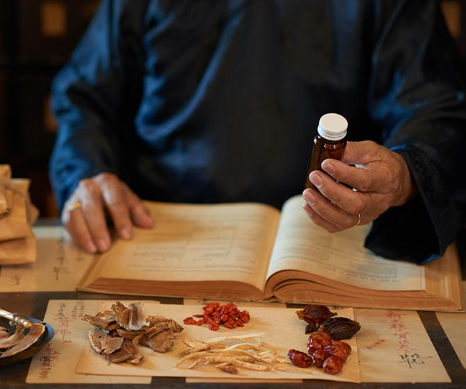 Working with traditional chinese medicine practitioners